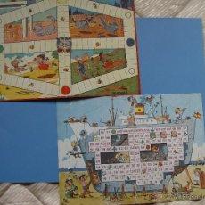 Juegos de mesa: LOTE 2 TABLEROS JUEGOS REUNIDOS COROMINAS (1962): ASTILLERO Y TRAVESURAS ¡ORIGINALES!. Lote 41391209