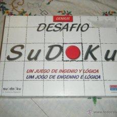 Juegos de mesa: +++JUEGO DE MESA SUDOKU+++ COMPLETO. Lote 41391279