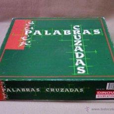 Juegos de mesa: JUEGO DE MESA, SUPER PALABRAS CRUZADAS, DE DINOVA, COMPLETO. Lote 41414344