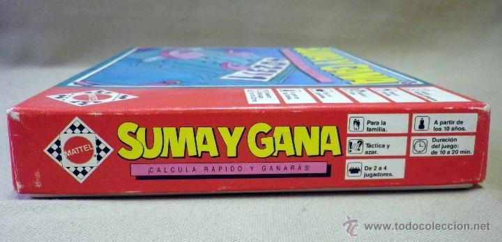 Juegos de mesa: JUEGO DE MESA, SUMA Y GANA, MATTEL, 1989, INCLUYE REGLAMENTO, COMPLETO - Foto 5 - 41423108