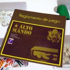 Juegos de mesa: JUEGO DE MESA, ALTO MANDO, JUEGOS FOURNIER. Lote 41424130
