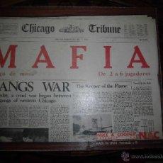 Juegos de mesa: JUEGO DE MESA NAC - MAFIA - 1982 . Lote 41430858