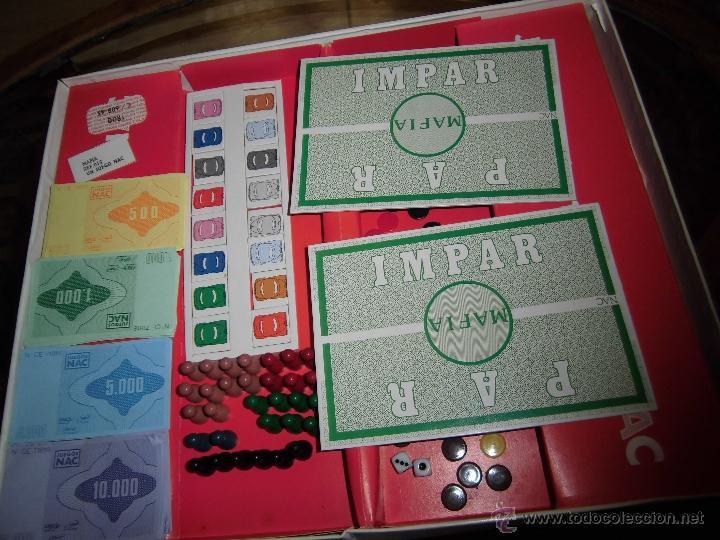 Juegos de mesa: JUEGO DE MESA NAC - MAFIA - 1982 - Foto 17 - 41430858