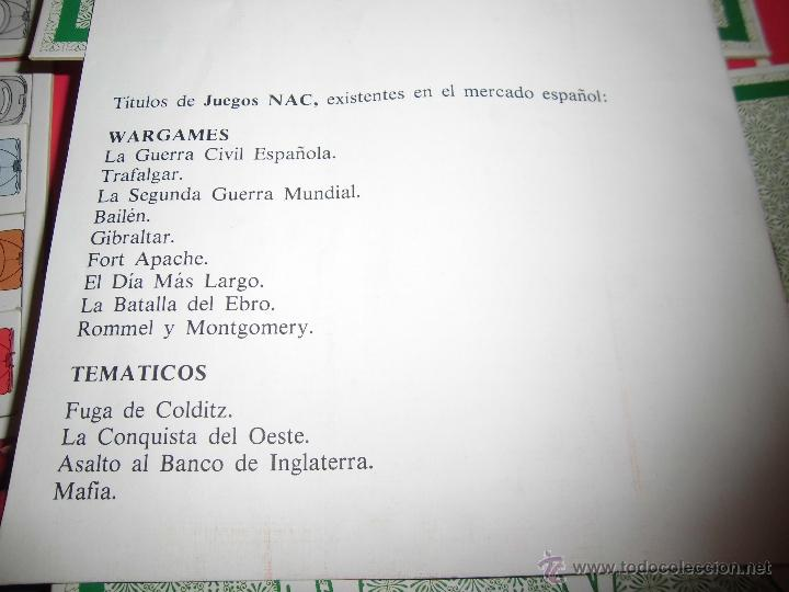 Juegos de mesa: JUEGO DE MESA NAC - MAFIA - 1982 - Foto 19 - 41430858