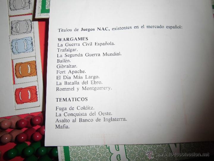 Juegos de mesa: JUEGO DE MESA NAC - MAFIA - 1982 - Foto 20 - 41430858