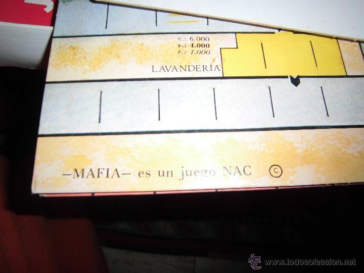 Juegos de mesa: JUEGO DE MESA NAC - MAFIA - 1982 - Foto 25 - 41430858