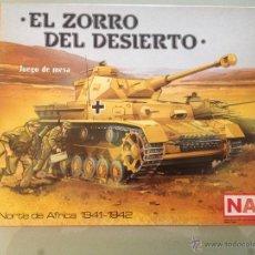Juegos de mesa: JUEGO DE MESA NAC - EL ZORRO DEL DESIERTO. Lote 41513712