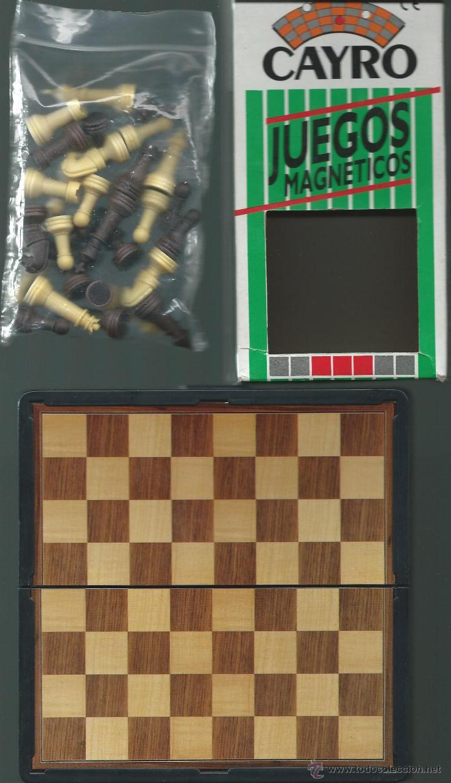 Juegos de mesa: JUEGO DE AJEDREZ MAGNETICO *CAYRO* CON CAJA - COMPLETO - Foto 2 - 41532083