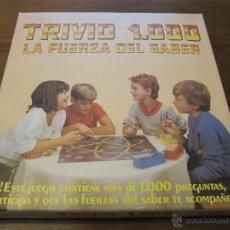 Juegos de mesa: JUEGO DE MESA TRIVIO 1000 DE FALOMIR. Lote 41628984