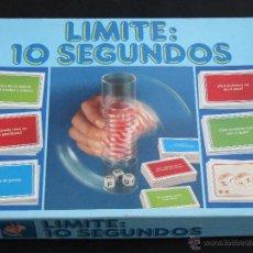 Juegos de mesa: JUEGO DE MESA LIMITE 10 SEGUNDOS EDUCA. Lote 41629102