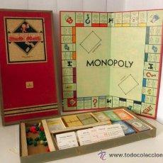 Juegos de mesa: ANTIGUO MONOPOLY DE LUXE 1961 * DESKA - BRUSELLES EDITION BELGE * EDICION DE COLECCIONISTA RARISIMO. Lote 41675326