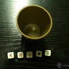 Juegos de mesa: JUEGO DE CUBILETE. Lote 41714137