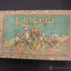 Juegos de mesa: ANTIGUO JUEGO DE LOTERIA - . Lote 41742635