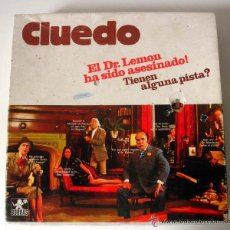 Juegos de mesa: JUEGO DE MESA CLUEDO * COMPLETO. Lote 41766768