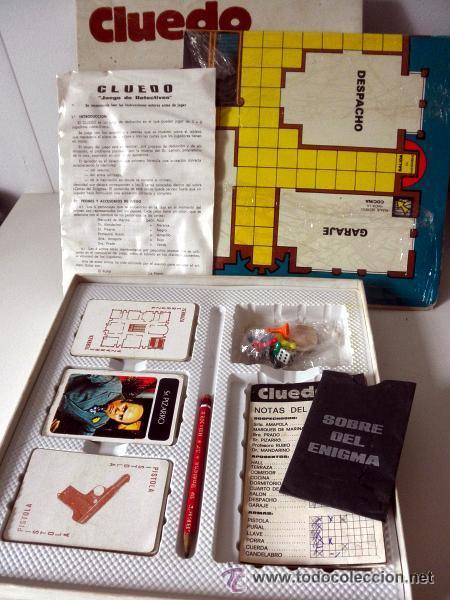 Juegos de mesa: juego de mesa CLUEDO * COMPLETO - Foto 2 - 41766768