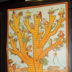 Juegos de mesa: TABLERO DE CARTON DE EL JUEGO DE LOS NIDOS. ILUSTRADO POR KARPA. GEYPER.. Lote 41767201