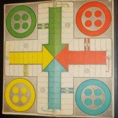 Juegos de mesa: TABLERO DE CARTON DE EL JUEGO DEL PARCHIS. GEYPER. 24 X 24CM.. Lote 41767297