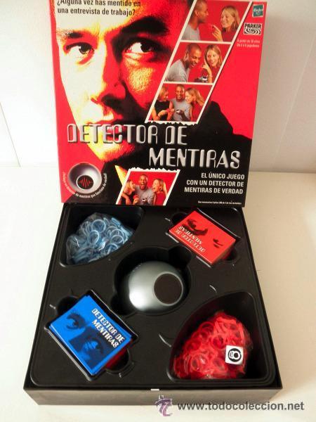 Detector De Mentiras Parker Hasbro 2001 Comprar Juegos De Mesa