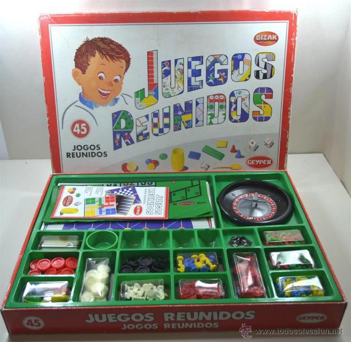 Juegos Reunidos Geyper 45 Bizak Comprar Juegos De Mesa Antiguos