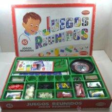 Juegos de mesa: JUEGOS REUNIDOS GEYPER 45 - BIZAK. Lote 41858950