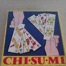Juegos de mesa: CHI-SU-MI JUEGO DE MESA AÑOS 70 EDUCA. Lote 41918231