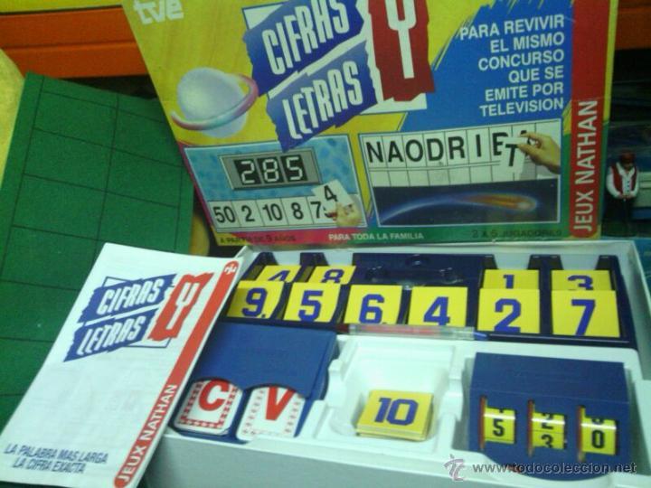 Cifras Y Letras Juego De Tve Comprar Juegos De Mesa Antiguos En