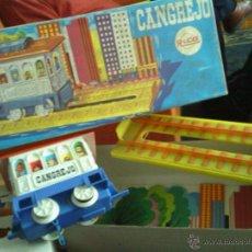 Juegos de mesa: ANTIGUO CANGREJO TREN JUGUETE DE LA MARCA RICO. Lote 42069806