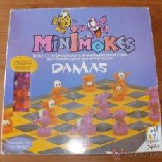 Juegos de mesa: JUEGO DE DAMAS MINIMOKES DE POPULAR DE JUGUETES. Lote 42153175