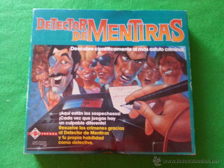 Juego De Mesa Detector De Mentiras De Mattel Comprar Juegos De