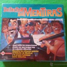 Juegos de mesa: JUEGO DE MESA DETECTOR DE MENTIRAS DE MATTEL. Lote 54320544