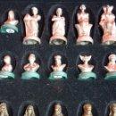 Juegos de mesa: PRECIOSO AJEDREZ FIGURAS HISTÓRICAS. Lote 42370936