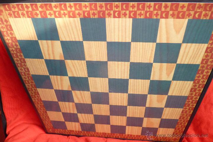 Juegos de mesa: PRECIOSO AJEDREZ FIGURAS HISTÓRICAS - Foto 3 - 42370936