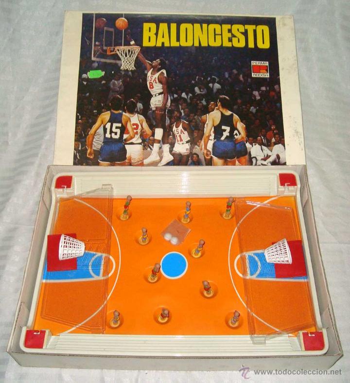 Antiguo Juego De Mesa De Basket Baloncesto Marc Comprar Juegos De