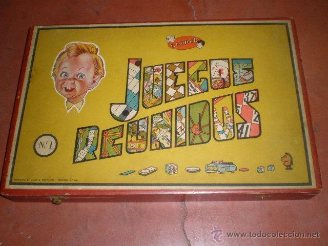 Juegos Reunidos Geyper Nº 1 Caja De Madera Comprar Juegos De