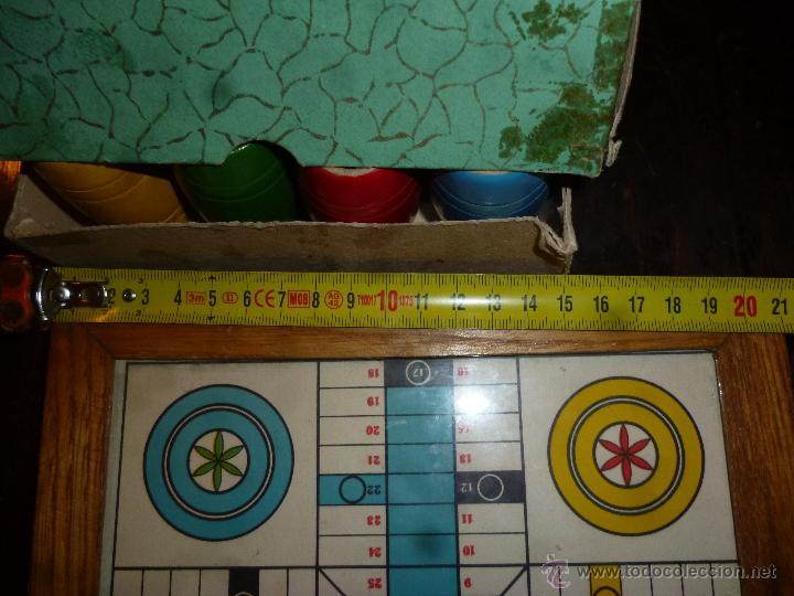 Juegos de mesa: PARCHIS CON CUBILETES DE MADERA - Foto 2 - 42530115