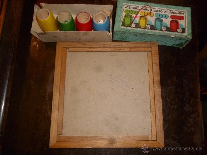 Juegos de mesa: PARCHIS CON CUBILETES DE MADERA - Foto 3 - 42530115