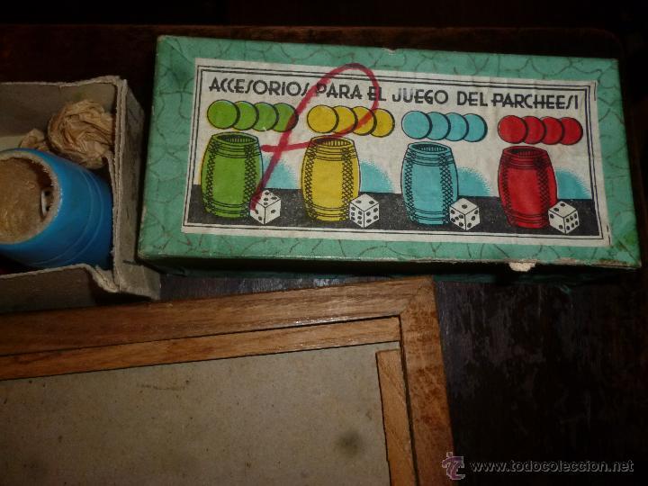 Juegos de mesa: PARCHIS CON CUBILETES DE MADERA - Foto 4 - 42530115