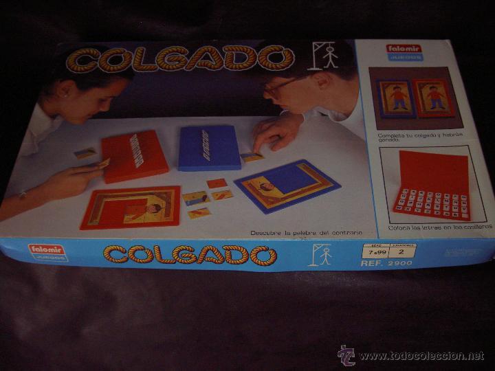 JUEGO COLGADO FALOMIR JUEGOS AHORCADO (Juguetes - Juegos - Juegos de Mesa)