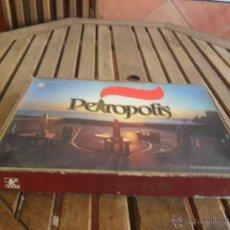 Juegos de mesa: JUEGO DE MESA PETROPOLIS DE BORRA COMPLETO SOLO FALTA ALGUNOS BILLETES. Lote 253664370