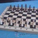 Juegos de mesa: AJEDREZ DE MADERA.PIEZAS DE MADERA.. Lote 101180082