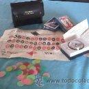 Juegos de mesa: JUEGO DE RULETA Y CARTAS DE POKER EN ESTUCHE DE CUERO. AÑOS 60. ROULETTE & PLAYING CARDS.. Lote 42634706
