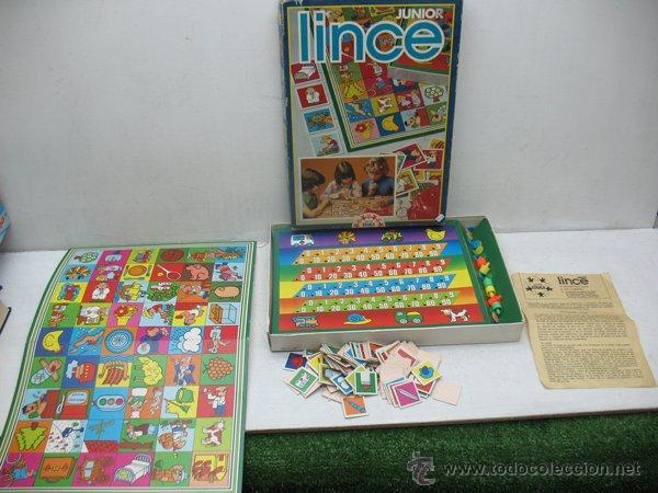 EDUCA - JUEGO DE MESA EDUCATIVO LINCE JUNIOR (Juguetes - Juegos - Juegos de Mesa)