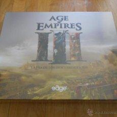 Juegos de mesa: JUEGO DE MESA - AGE OF THE EMPIRES III - EDGE - PRECINTADO - MINIATURAS. Lote 42650387