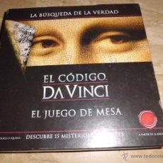 Juegos de mesa: EL CODIGO DA VINCI - LA BUSQUEDA DE LA VERDAD COMO NUEVO COMPLETO SOLO JUGADO UNA VEZ 2006. Lote 42696403