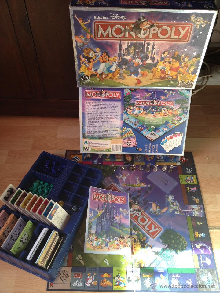 Juego De Mesa Monopoly Especial Edicion Disney Comprar Juegos De