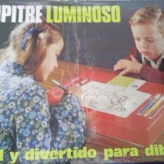 Juegos de mesa: PUPITRE LUMINOSO -AÑOS 80-. Lote 42748631