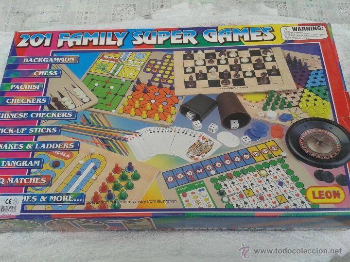 201 Family Super Games Juego De Mesa Para Toda Comprar Juegos De