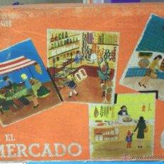 Juegos de mesa: ANTIGUO JUEGO -EL MERCADO- DE APRENDIZAJE PARA NIÑOS. Lote 42809041