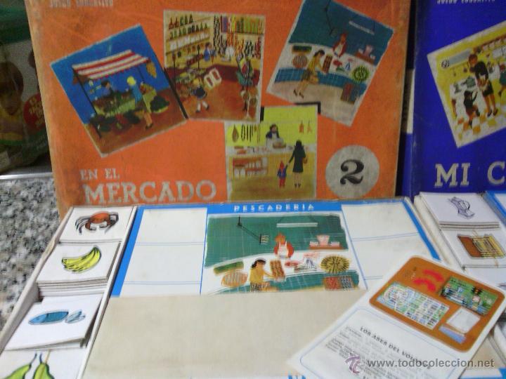 Juegos de mesa: ANTIGUO JUEGO -EL MERCADO- DE APRENDIZAJE PARA NIÑOS - Foto 2 - 42809041