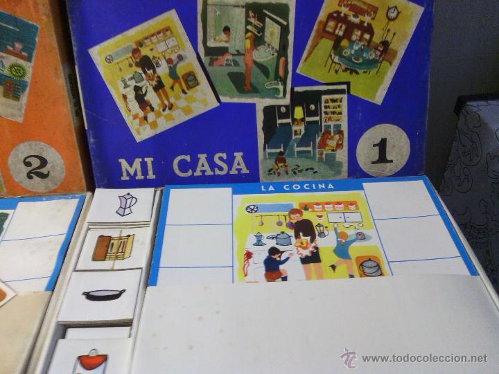 Juegos de mesa: ANTIGUO JUEGO DE MESA -MI CASA- - Foto 2 - 42809052